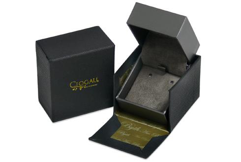 Clogau Welsh Gold Royal Oak Stud Earrings 3SOLE02